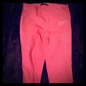 Red / pink  orange color dress pants size 12